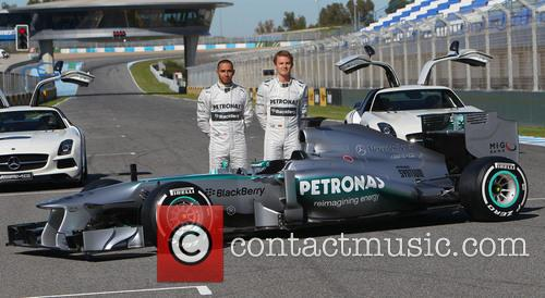Lewis Hamilton and Nico Rosberg 8