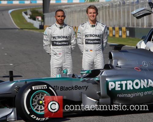 Lewis Hamilton and Nico Rosberg 10