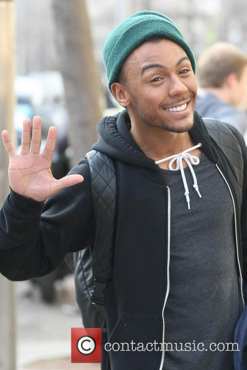 marcus collins celebrities at the itv studios 3481630