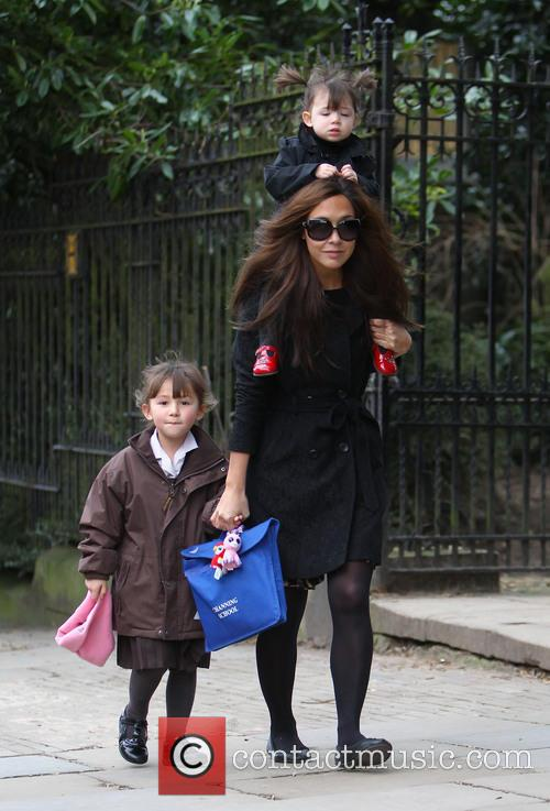 Myleene Klass, Hero Harper Quinn and Ava Bailey Quinn 5