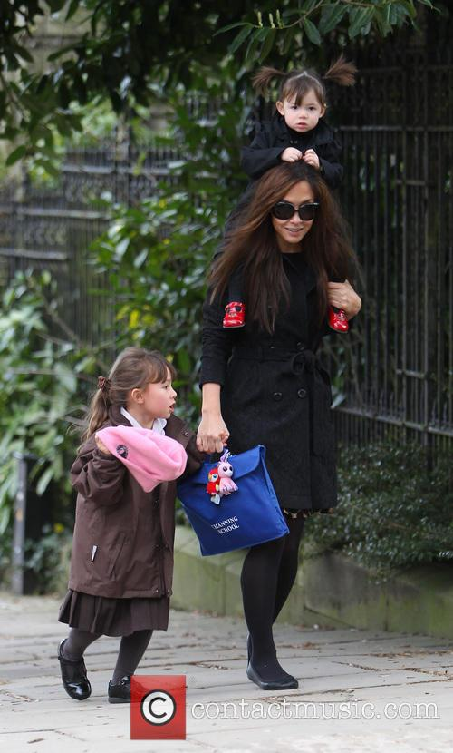 Myleene Klass, Hero Harper Quinn and Ava Bailey Quinn 11
