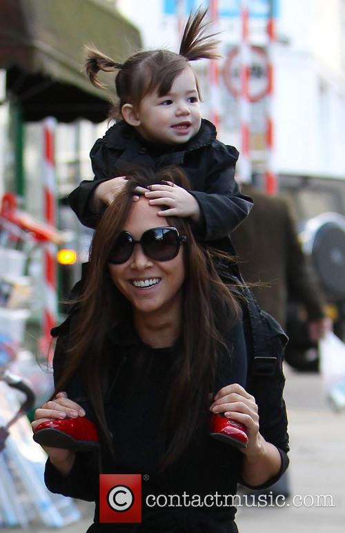 Myleene Klass and Hero Harper Quinn 4