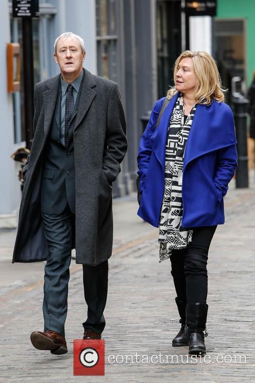 Nicholas Lyndhurst and Amanda Redman 2