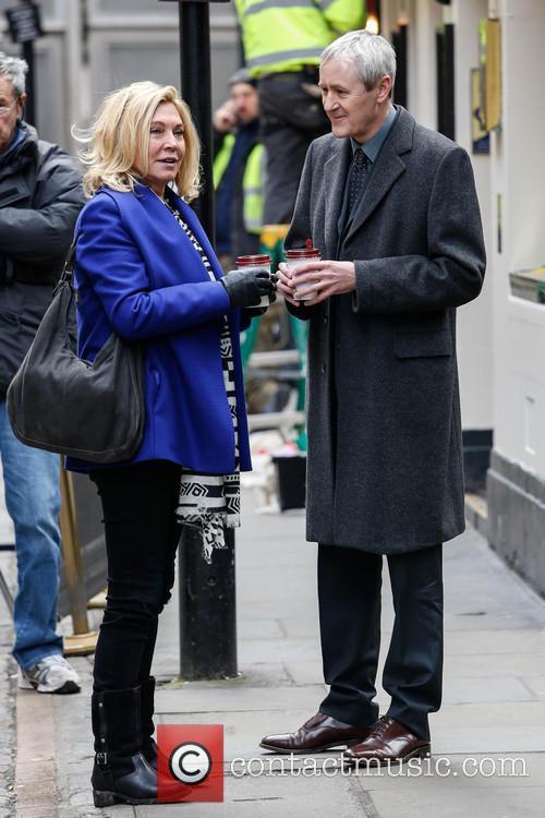 Nicholas Lyndhurst and Amanda Redman 8