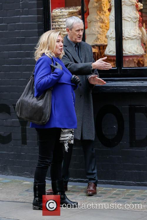 Nicholas Lyndhurst and Amanda Redman 17