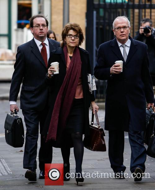 Vicky Pryce arrives at Southwark Crown Court