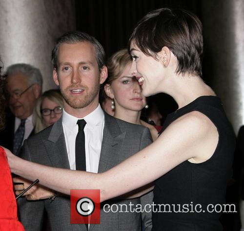 Anne Hathaway and Husband Adam Schulman 9