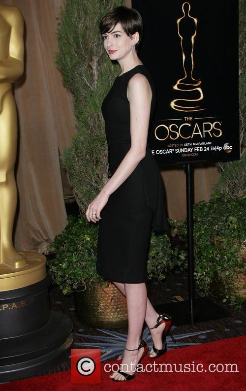 anne hathaway oscars nominees luncheon 3481980