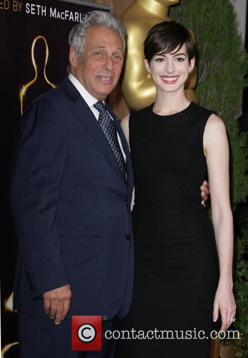 Anne Hathaway, Beverly Hilton Hotel