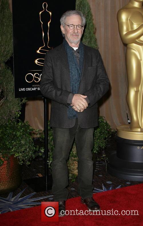 Director Steven Spielberg, Beverly Hilton Hotel