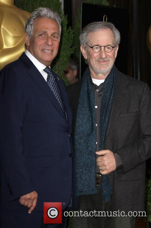 Hawk Koch and Steven Spielberg 2