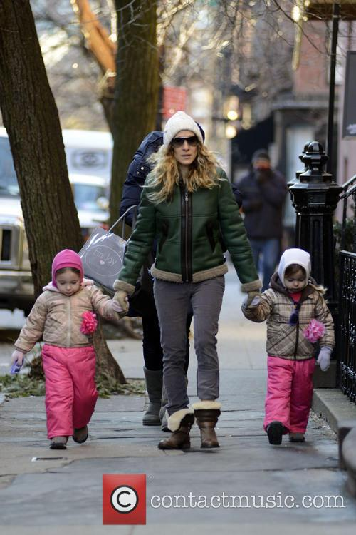 Sarah Jessica Parker, Marion Broderick and Tabitha Broderick 7