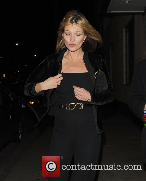 kate moss celebrities leave china tang restaurant 3482527
