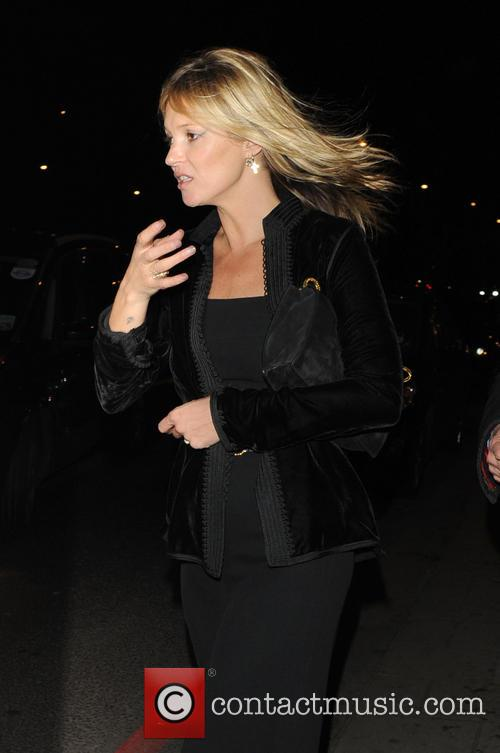kate moss celebrities leave china tang restaurant 3482552