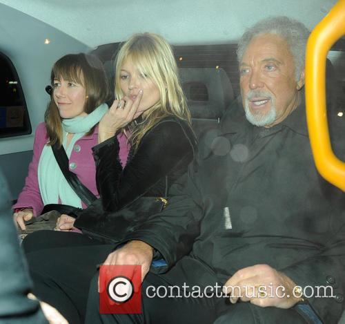 Kate Moss and Tom Jones 9