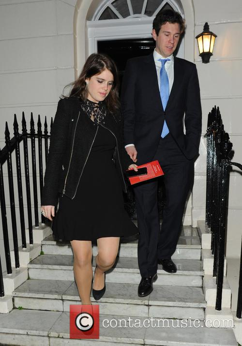 princess eugenie celebrities leave china tang restaurant 3482537