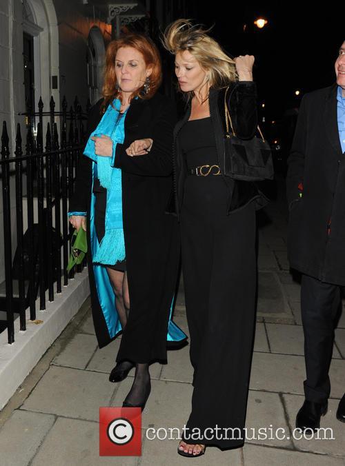 Sarah Ferguson, Duchess Of York and Kate Moss 3