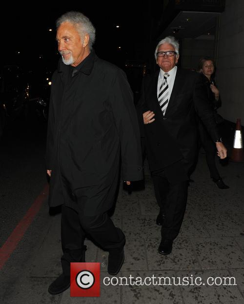 tom jones celebrities leave china tang restaurant 3482559