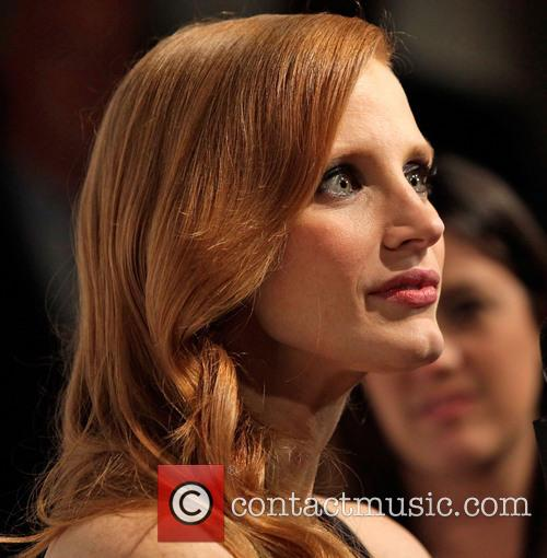 jessica chastain the hollywood reporter nominees night 2013 3482985