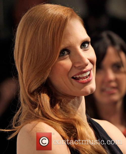 jessica chastain the hollywood reporter nominees night 2013 3482986