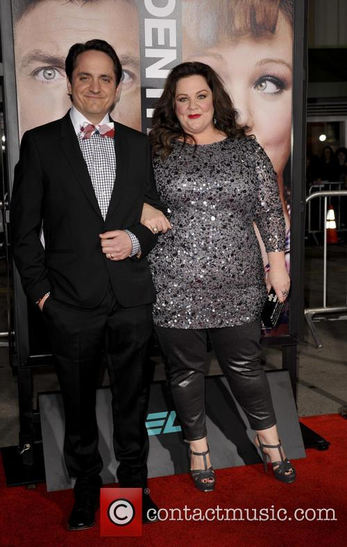 melissa mccarthy ben falcone los angeles premiere of 'identity 3482577