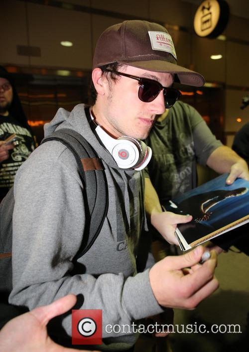 Josh Hutcherson At LAX