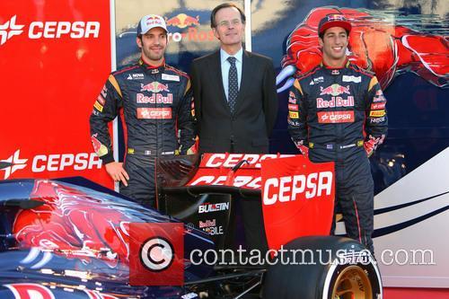 Daniel Ricciardo, Pedro Miro and Jean-eric Vergne 4
