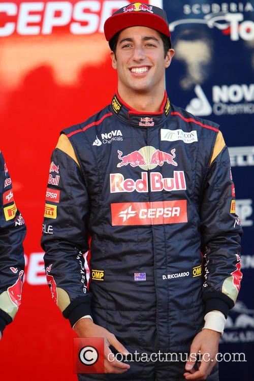 The Toro Rosso F1 STR8 Launch