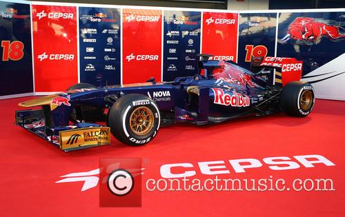 The Toro Rosso and Launch 2