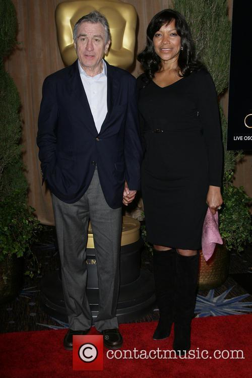 Robert De Niro and Grace Hightower 2