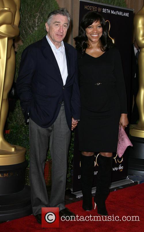 Robert De Niro and Grace Hightower 1