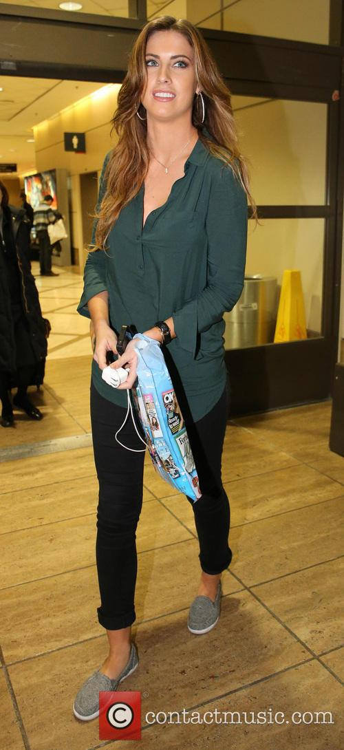 katherine webb celebrities arrive at lax airport 3482689