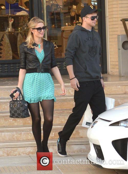 Paris Hilton and River Viiperi 2