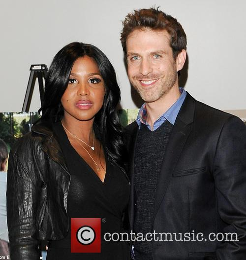 Toni Braxton and David Julian Hirsh 3