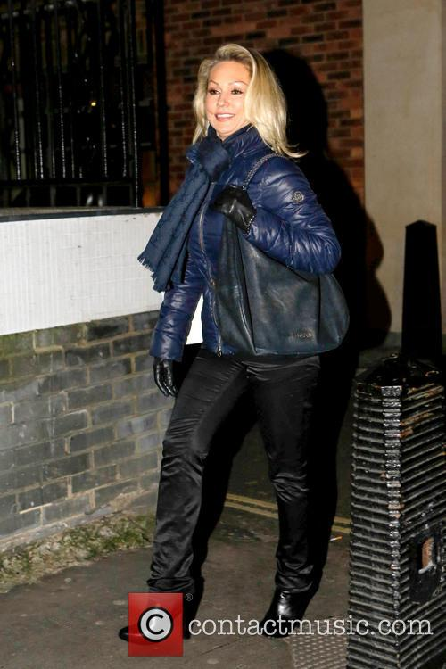 Kristina Rihanoff seen leaving her hotel