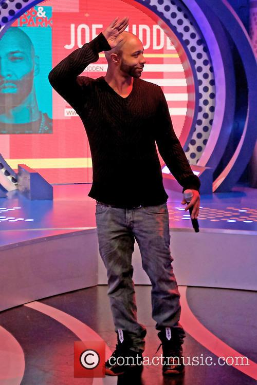 Joe Budden appearing on BET's '106 and Park'