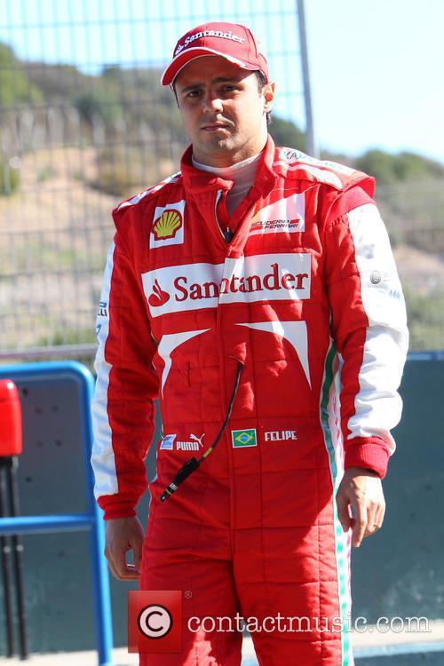 Felipe Massa and Ferrari 3