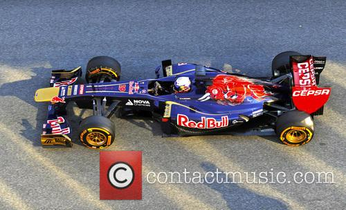 Jean-eri Vergne and Team Toro Rosso 4