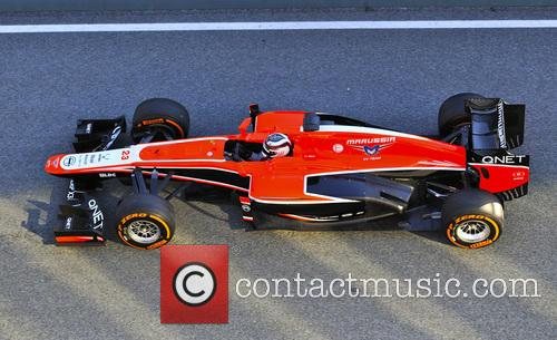 Sia, Max Chilton and Marussia  Mr02 3