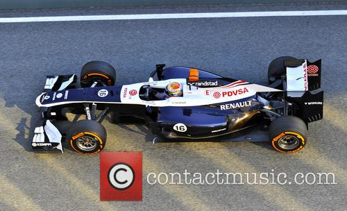 Pastor Maldonado and Team Williams 1