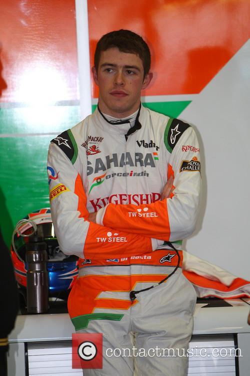 Paul Di Resta and Force India-mercedes 3