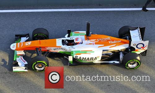 Paul Di Resta and Team Force India-mercedes 2
