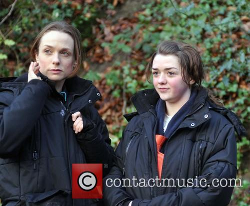 Maisie Williams and Kerry Condon 1