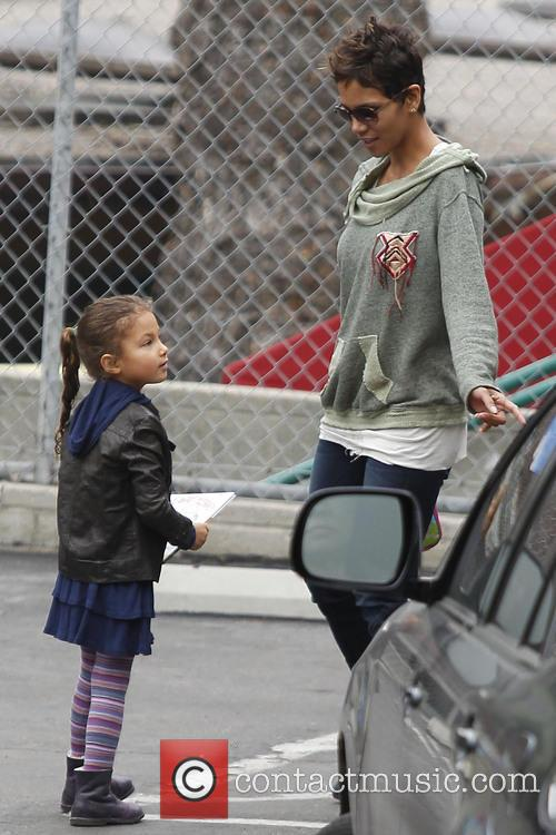 Halle Berry and Nahla Aubry 5