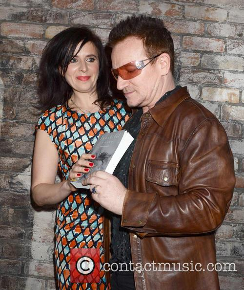 Helen Seymour and Bono 2