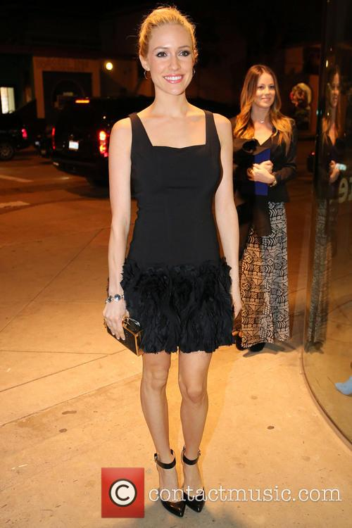 Kristin Cavalleri arrives at Kitson in West Hollywood.
