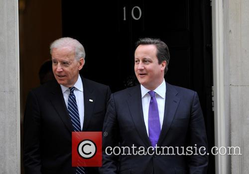 David Cameron and Us Vice President Joe Biden 5