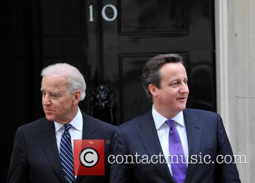 David Cameron and Us Vice President Joe Biden 6