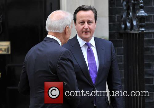 David Cameron and Us Vice President Joe Biden 1