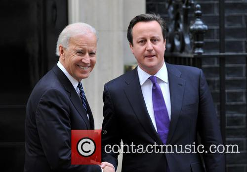 David Cameron and Us Vice President Joe Biden 10